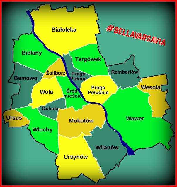 zona in cui vivere a Varsavia