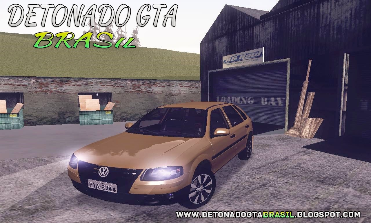 GTA SA - Volkswagen Gol Power G4 2004