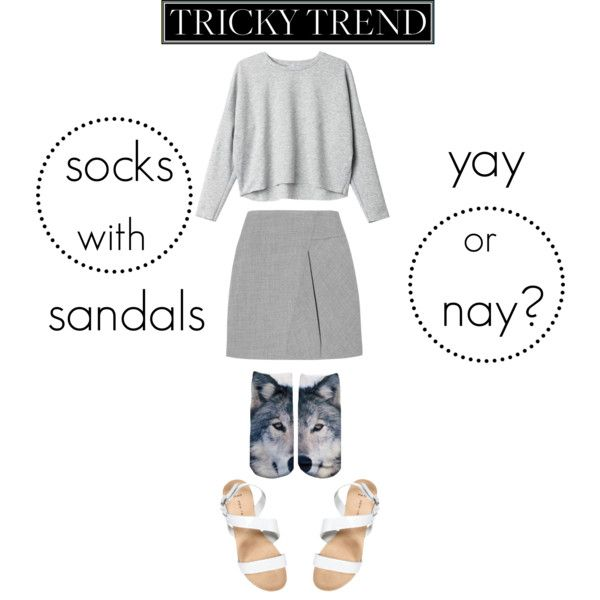 Socks with sandals, yay or nay? Visit www.forarealwoman.com #fashion #blogger