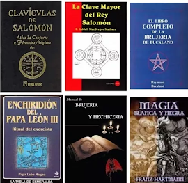 LOS MEJORES LIBROS DE MAGIA BLANCA Y MAGIA NEGRA EN PDF: