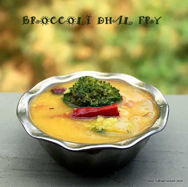 BROCCOLI DHAL FRY | BROCCOLI KOOTU | BROCCOLI RECIPES
