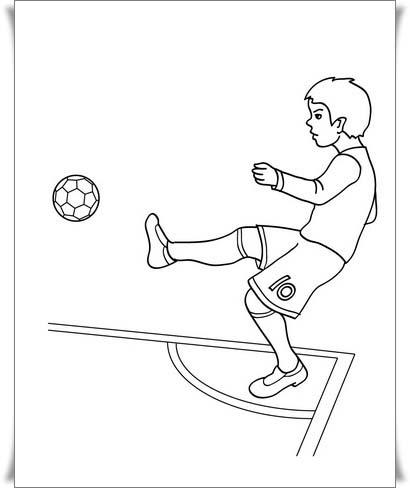 Nett Fußball Druckbare Malvorlagen Zeitgenössisch - Ideen färben ...