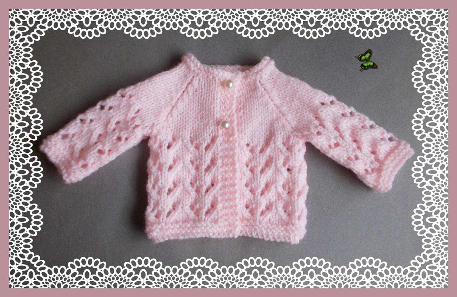 mariannas lazy daisy days: Little Bibi - Preemie Baby Jacket & Hat