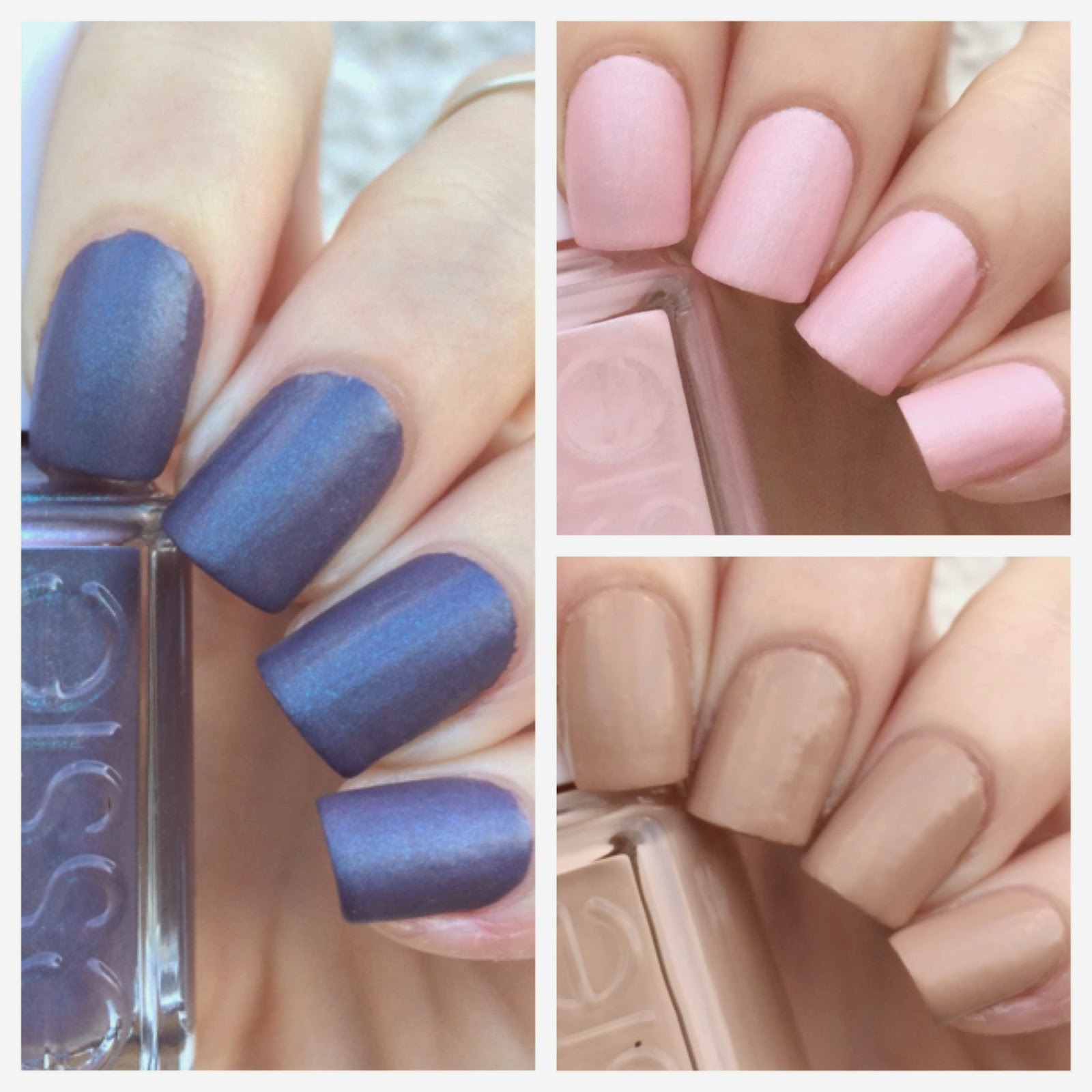 cat eyes & skinny jeans: Essie Wrapped in Color Cashmere Matte Trio ...