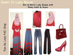 TIPS MIX & MATCH LADY BLOUSE
