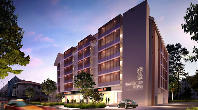 Grandviews Suites - 52 Commercial Units and 8 Retails Shop at Geylang - Launching soon..