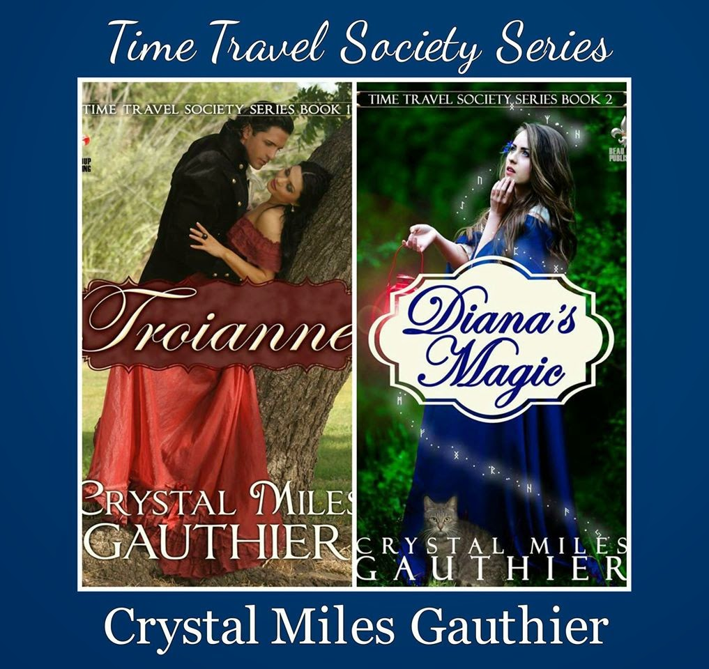 Go back in time with Crystal Miles Gauthier's Time Travel Society Series