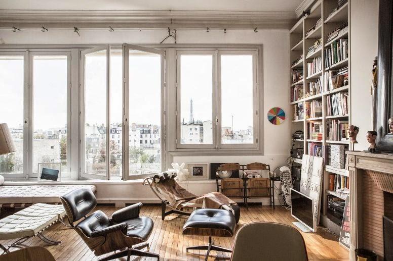 [Lugares con alma] Eclecticismo en un apartamento en París