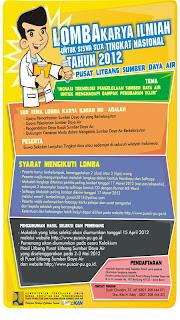 Lomba Karya Ilmiah SLTA 2012