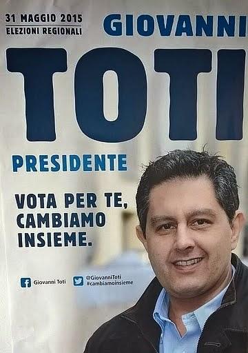 Forza Italia - Giovanni Toti candidato alla presidenza della Regione Liguria