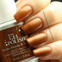 IBD Just Gel Polish Go-Go Above and Beyond Swatch
