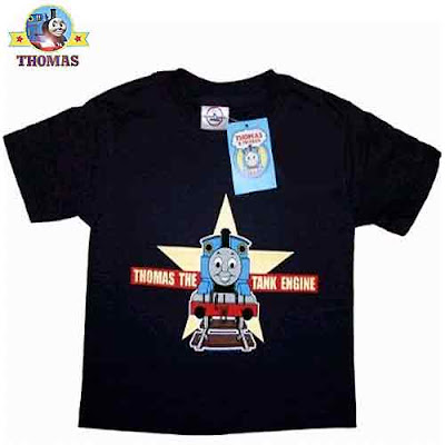 Official Thomas the tank engine products UV glowing star shirt dressing up boys Halloween costumes