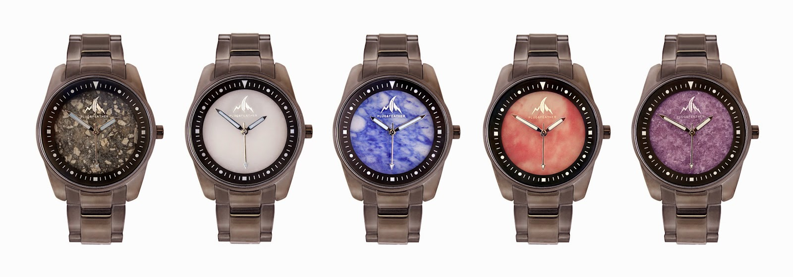 Plug And Feather : Felix and victor plug feather stone face watches