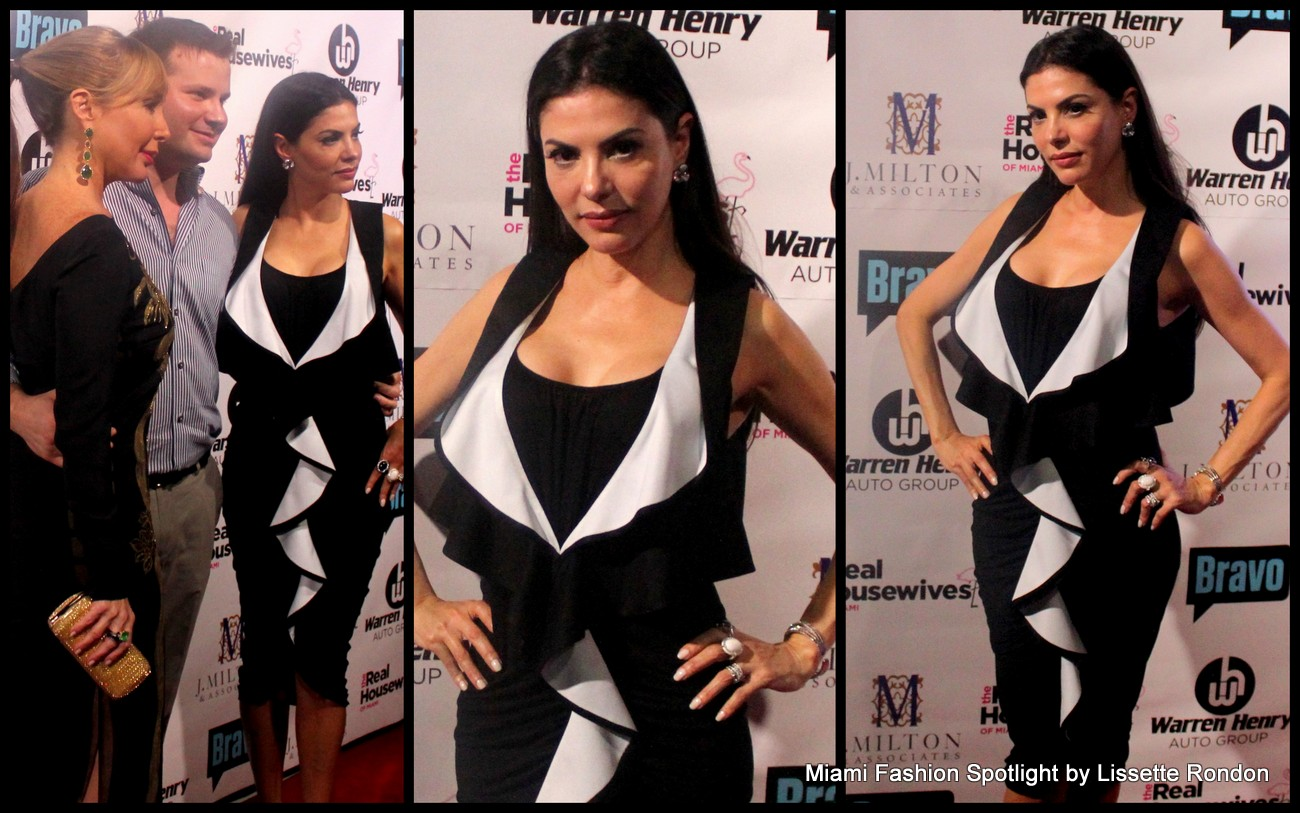 "Adriana De Moura attending the ""Real Housewives of Miami"" season 3 premier party."