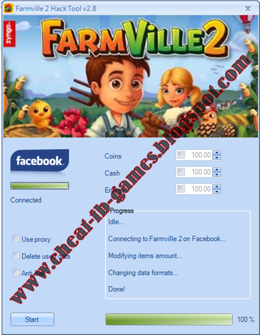 Cheat Facebook Games