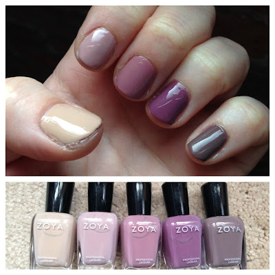 Zoya, Zoya Naturel Collection Winter 2013, ombre nails, ombre nail polish, nail art, nail polish, nail varnish, nail lacquer, manicure, mani monday, #manimonday, nails