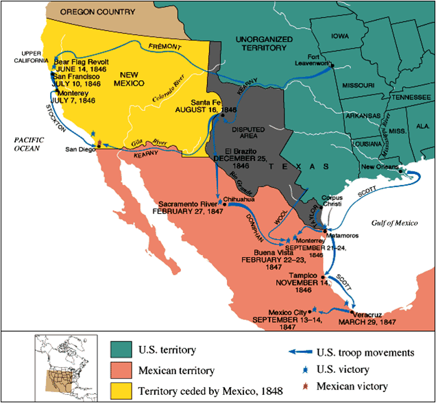 the reasons why the united states was justified in going to war with mexico The us outfought the mexicans, retaining texas and incorporating it as a   adolf hitler went to war with russia partly because the russians.