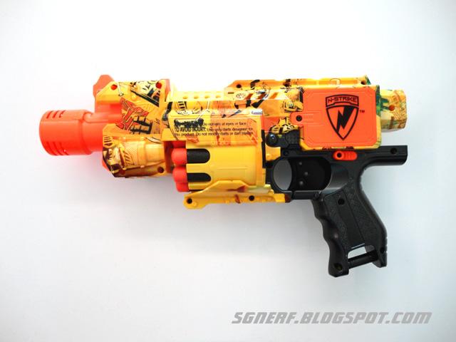 Image - Transformers optimus prime arm blaster1.jpg | Nerf Wiki ...