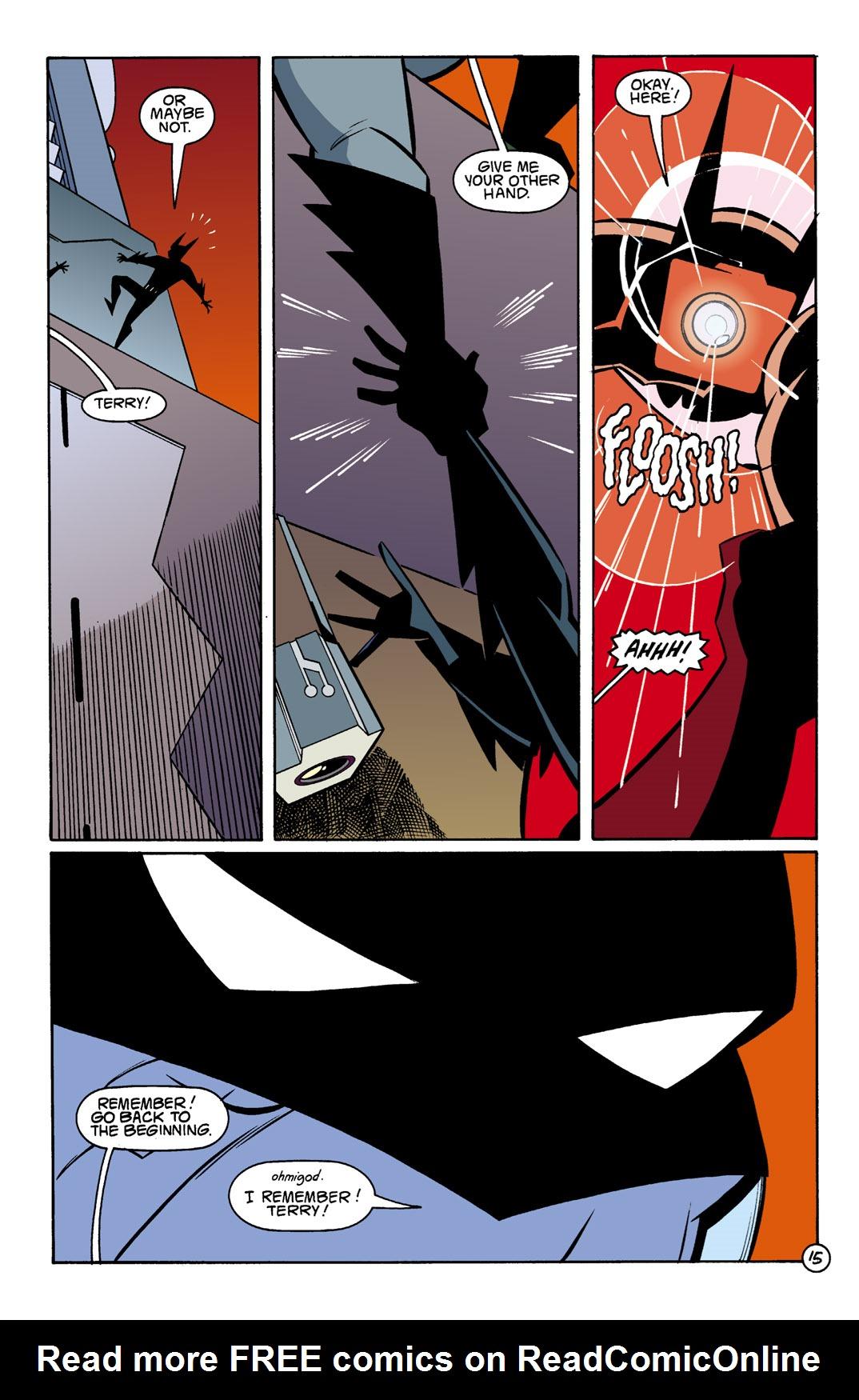 Batman Beyond [II] Issue #1 #1 - English 16