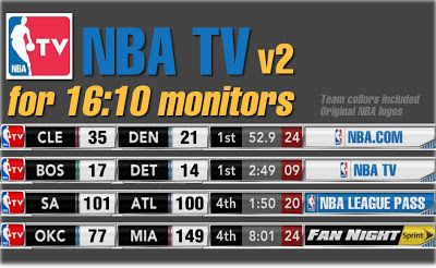 NBA 2K13 NBA TV Scoreboard Mod v2 16:10  Wide