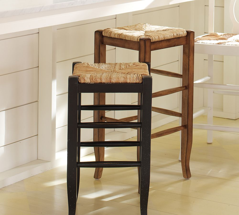 Pottery Barn Napoleon Backless Barstool Copycatchic