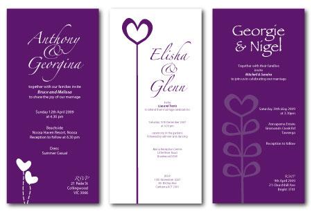Classic Wedding Invitations Traditional Wedding Invitations OR Modern