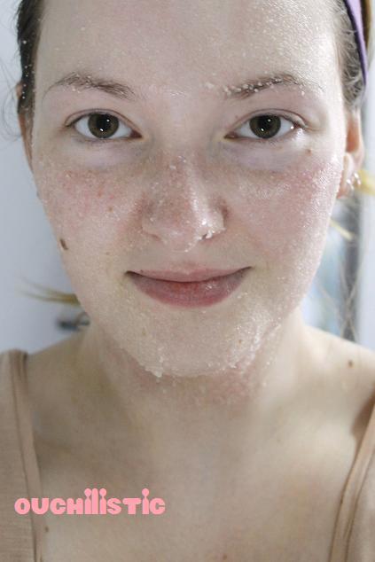 Gommage visage maison naturel rapide et pas cher the - Gommage visage fait maison ...