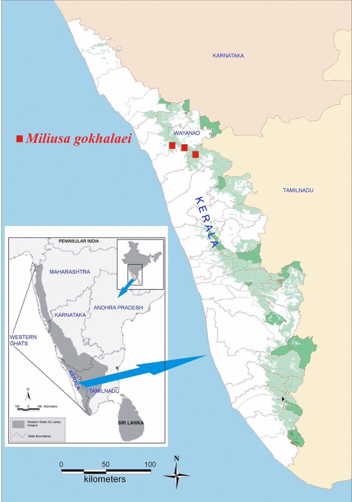 Western Ghats On Map Sciency Thoughts: A ne...