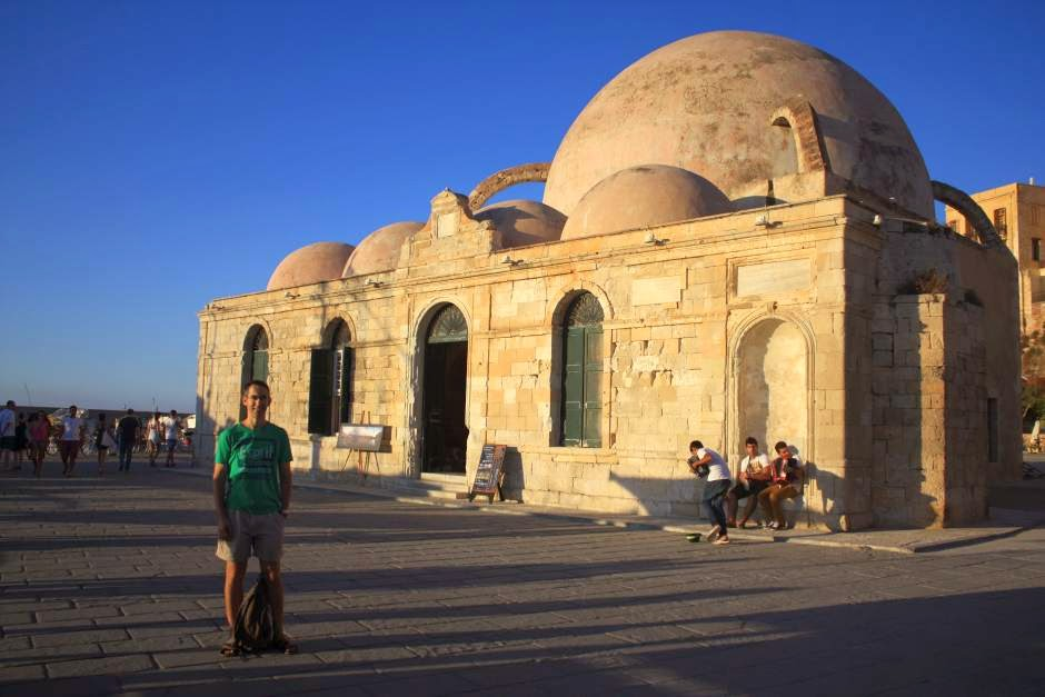 Mosque Yali Tzami in Chania