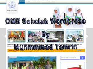 Download Source Code CMS Website Sekolah Wordpress