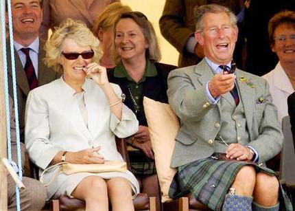 prince charles young. Racist Prince Charles laughs