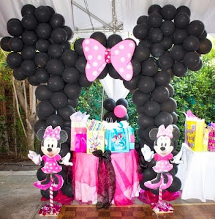 Fiestas Infantiles Decoradas con Minnie Mouse, parte 2