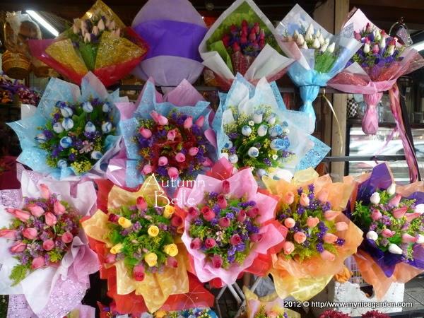 My Nice Garden Flower Street Of Kuala Lumpur Chinatown Valentine S Day Flowers