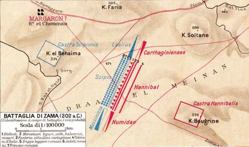 Resultado de imagen de batalla de zama