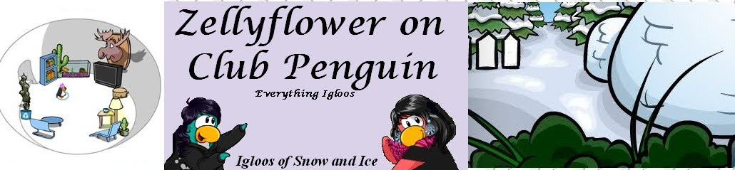Club Penguin Igloo Ideas with Zellyflower