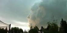 antara bentuk awan yg pelik: