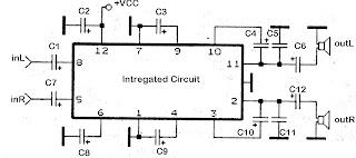 schematics LA4558