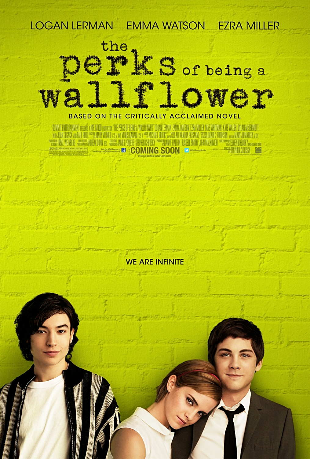 the perks of being a wallflower (novel) short essay The perks of being a wallflower is a novel about corruption of youth with an underlying rebellion associated with the counterculture of the 1990s cautionary tales are intertwined and hidden throughout the book.
