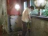 Muskoka Interior Basement Weeping Tile Drainage System dial 1-800-NO-LEAKS Muskoka in  Muskoka