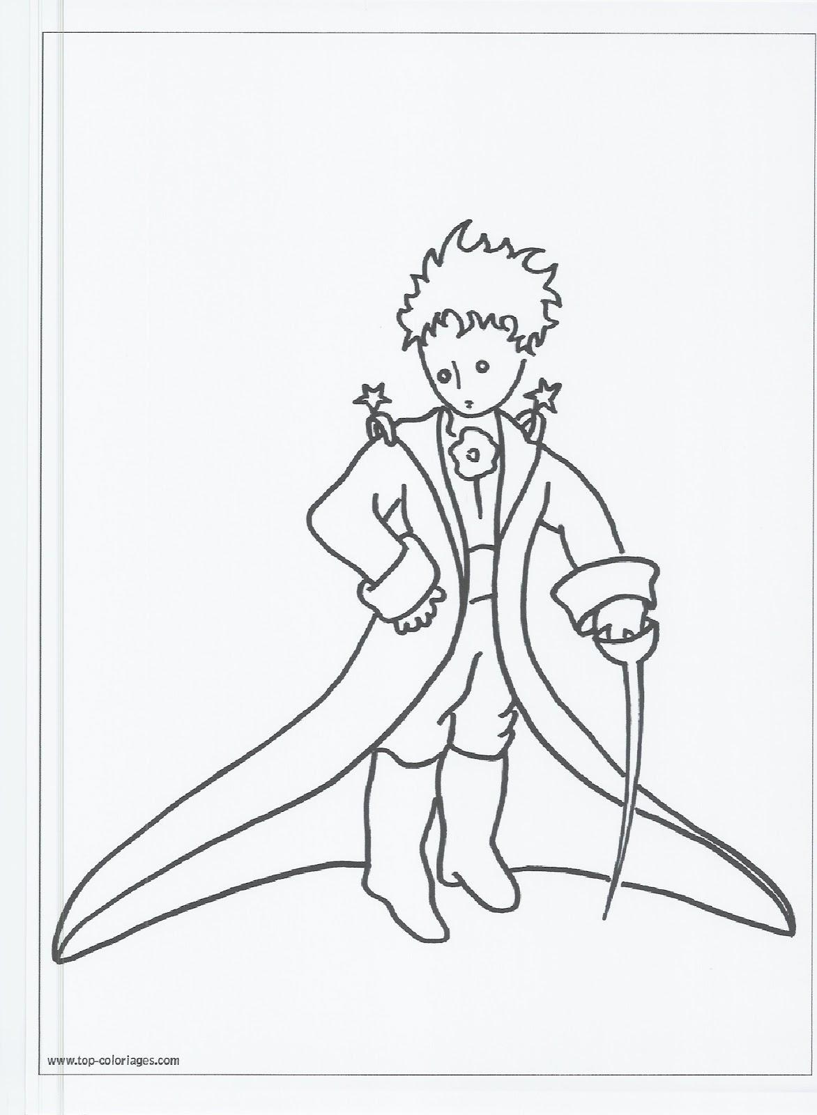 Extrêmement disegni da colorare: DISEGNI DA COLORARE: IL PICCOLO PRINCIPE NR01