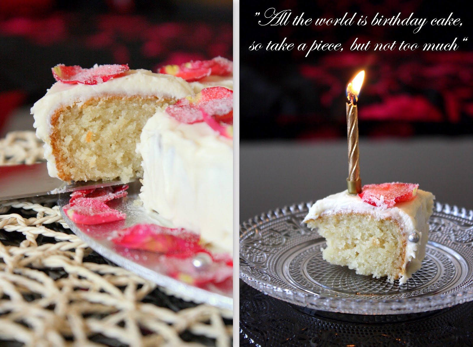 Cook Like Priya Rose Cake For A Wonderful Husband Happy Birthday Darling