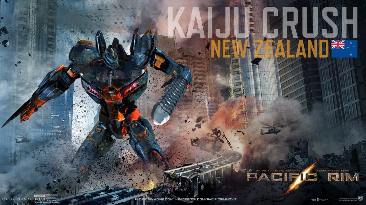 Pacific Rim Kaiju Poster Ultimate 3D Movies: Pa...