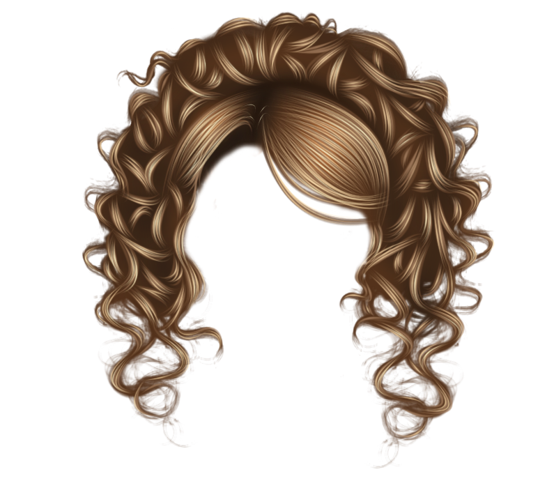 Photo Editing Material Hair Png
