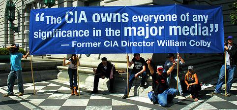 CIA controlled media
