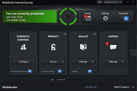Bitdefender Internet security home