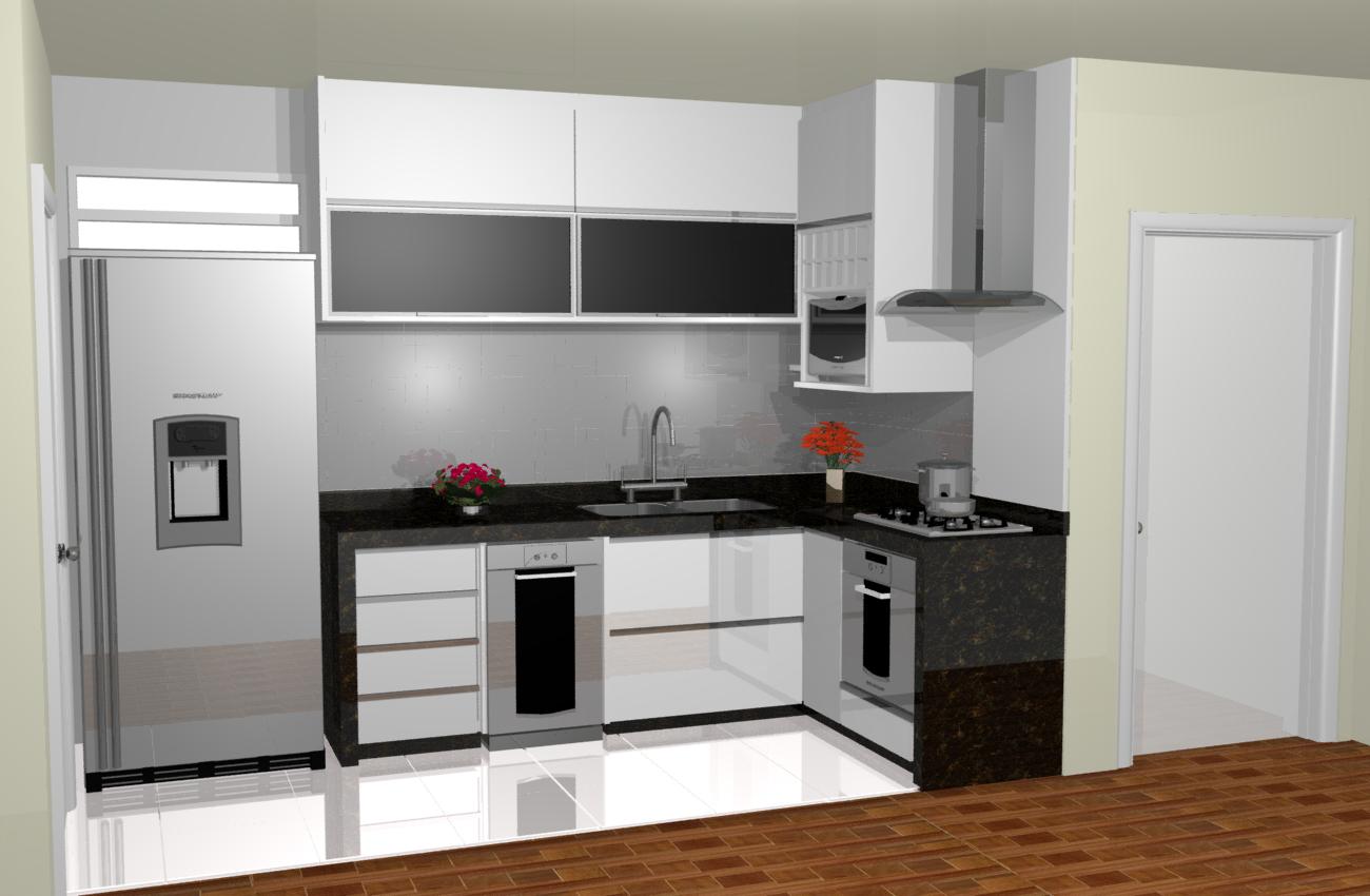para cozinha americanas 300x225 Móveis para Cozinha Lojas Americanas #714222 1300 850