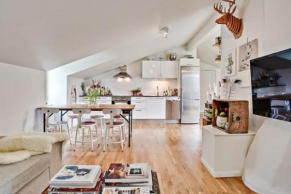 Dormitorios con buhardilla decorar tu casa es - Decorar una buhardilla ...