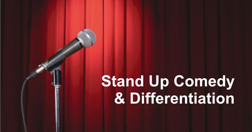 Marketing Exhibition Stand Up Comedy : Marketing cappuccino stand up comedy dan differensiasi