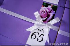 Convite aniversário Célia 65 anos
