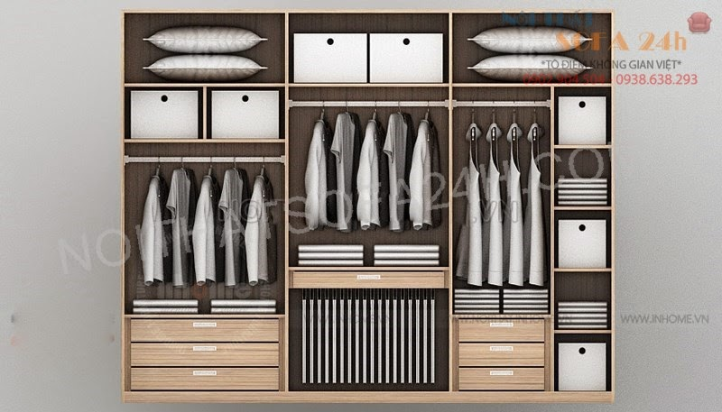 Tủ áo TA057